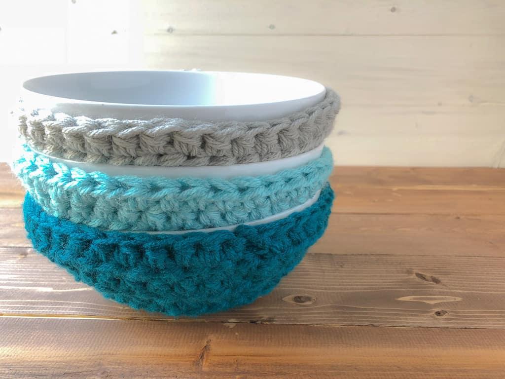 Quick Easy Bowl Cozies Winding Road Crochet