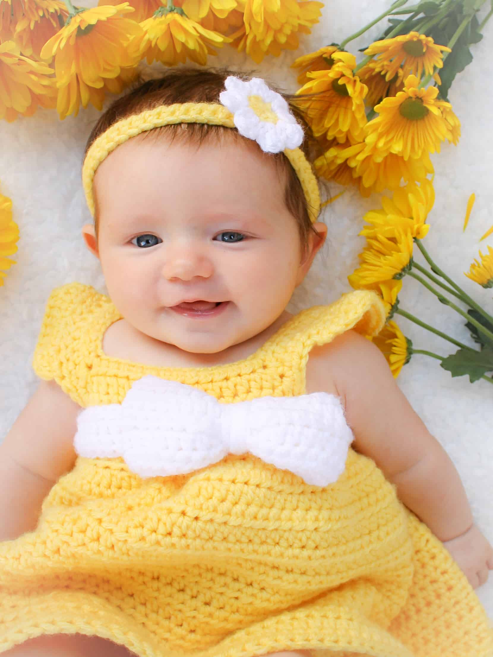 Simply Spring Baby Dress 6 18 Months Winding Road Crochet
