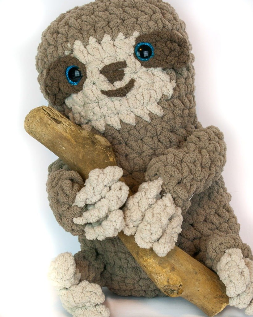 Spike The Sloth One Skein Project Winding Road Crochet