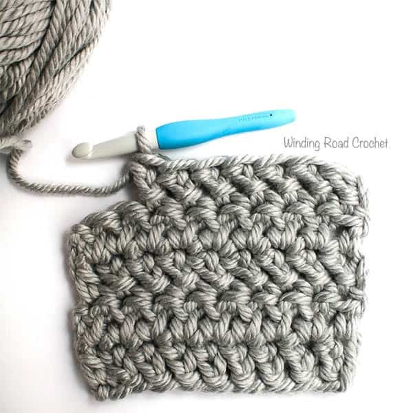 Check out this tutorial for how to crochet the Herringbone Double Crochet stitch with straight edges. There is a photo tutorial, tips on creating a border, reducing gaps and keeping your edges straight. The Herringbone stitch is a great stitch to learn if you love the look of knit stitches. Examples of stitch in different yarn weights. #crochet #knitlook #pinforlater #herringbone #doublecrochet