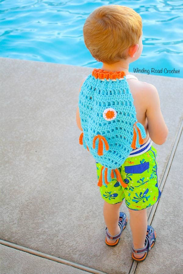 Fish Beach Backpack Free Crochet Pattern Winding Road Crochet