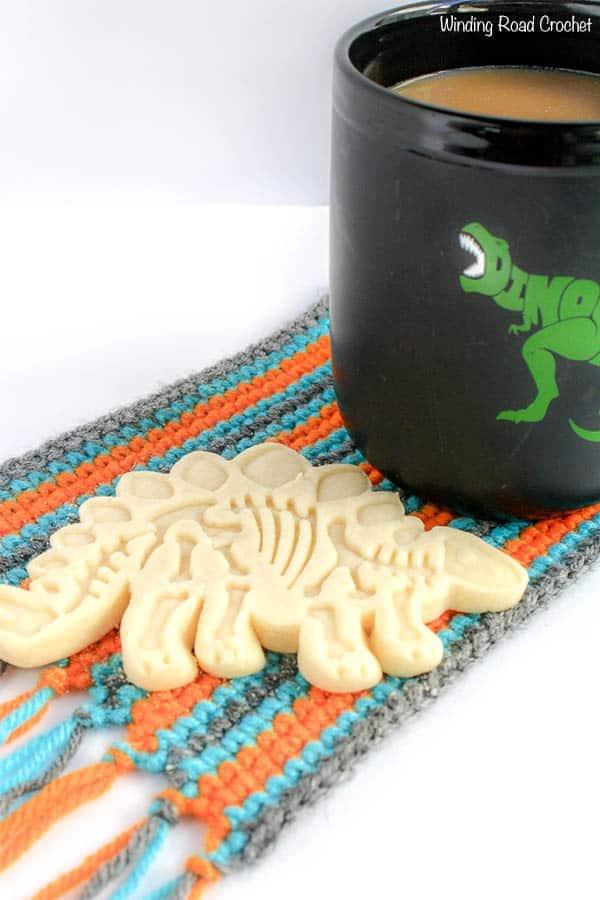 Mug Rug Free Crochet Pattern And Printable Winding Road Crochet