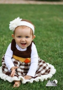 simply fall baby dress