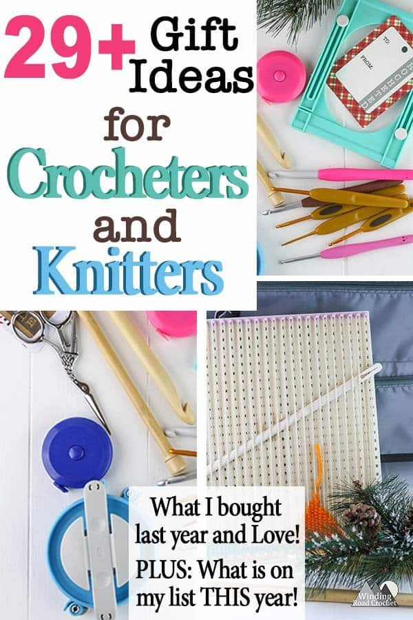 Give the perfect gift to the crocheter or knitter on your list or add any of