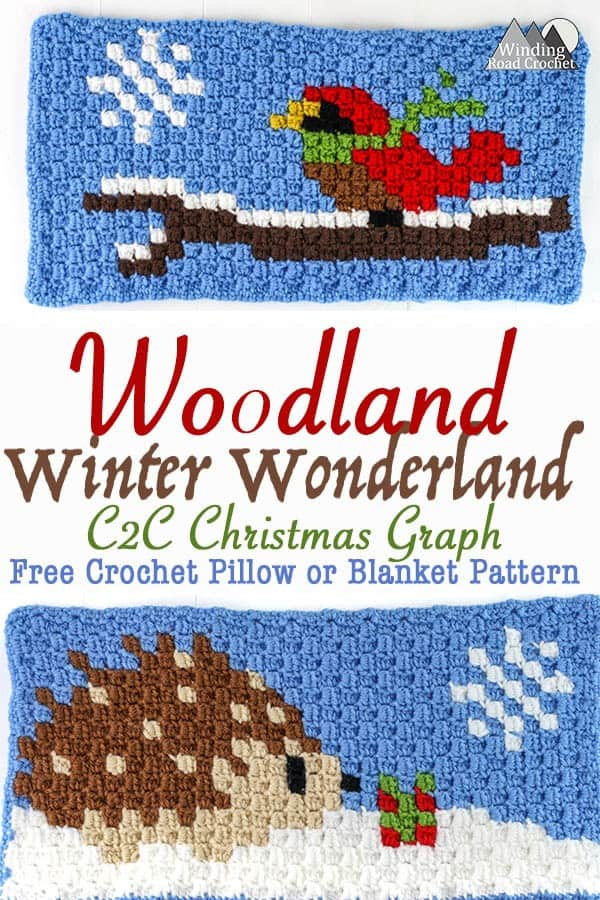 Little Critters Crochet C2c Graphs Winding Road Crochet
