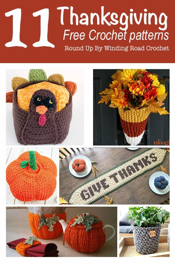Thanksgiving Free Crochet Patterns Round Up Winding Road Crochet