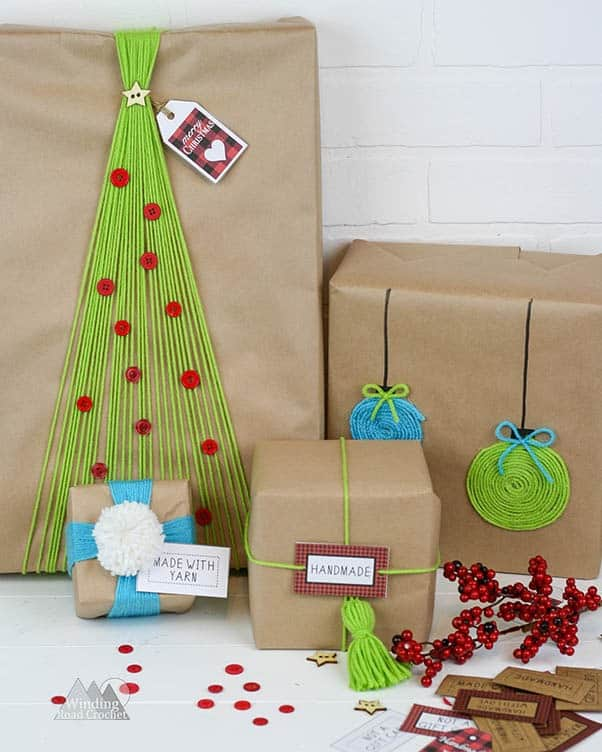 A Crafter's guide to present wrapping. This is a post designed to inspire you to get creative when wrapping christmas, birthday and any other gifts.