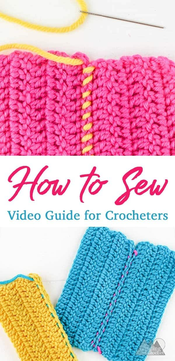 Sewing Crochet Pieces together