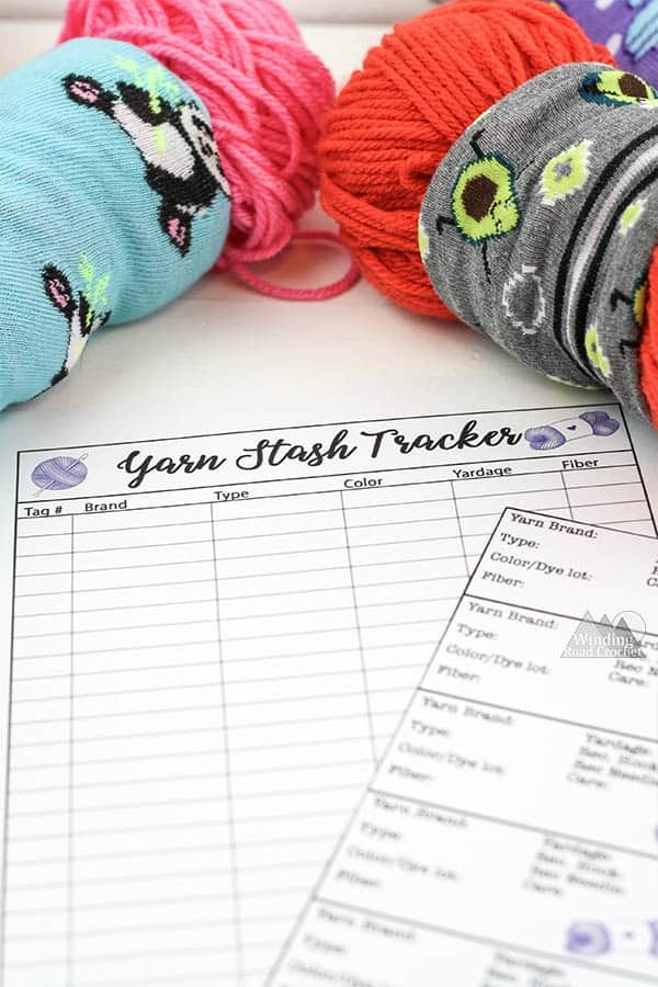 tangle free yarn storage
