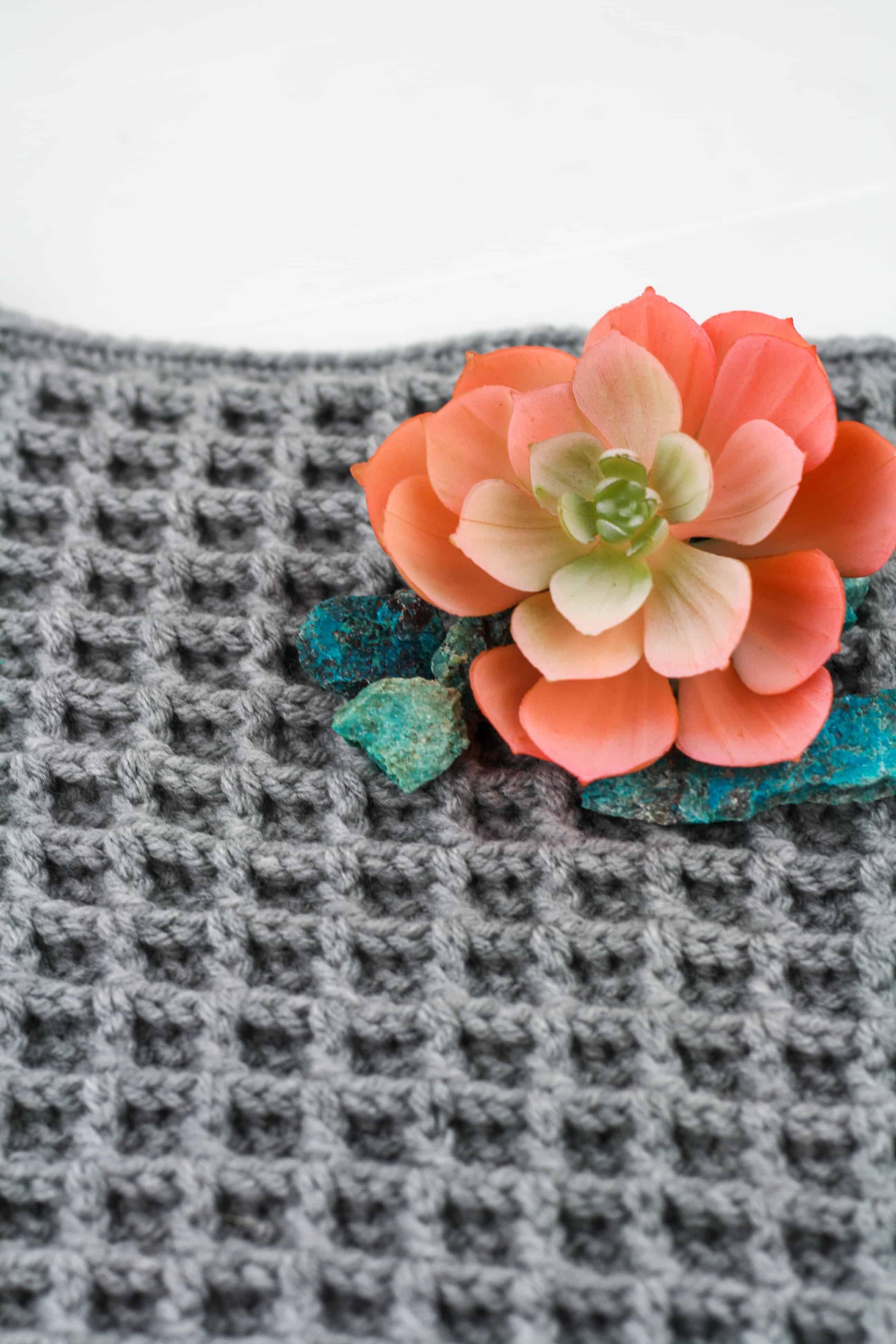 Waffle Stitch Crochet Tutorial Winding Road Crochet