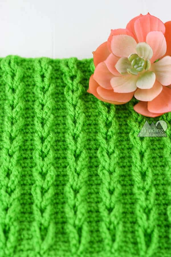 crochet chain stitch tutorial