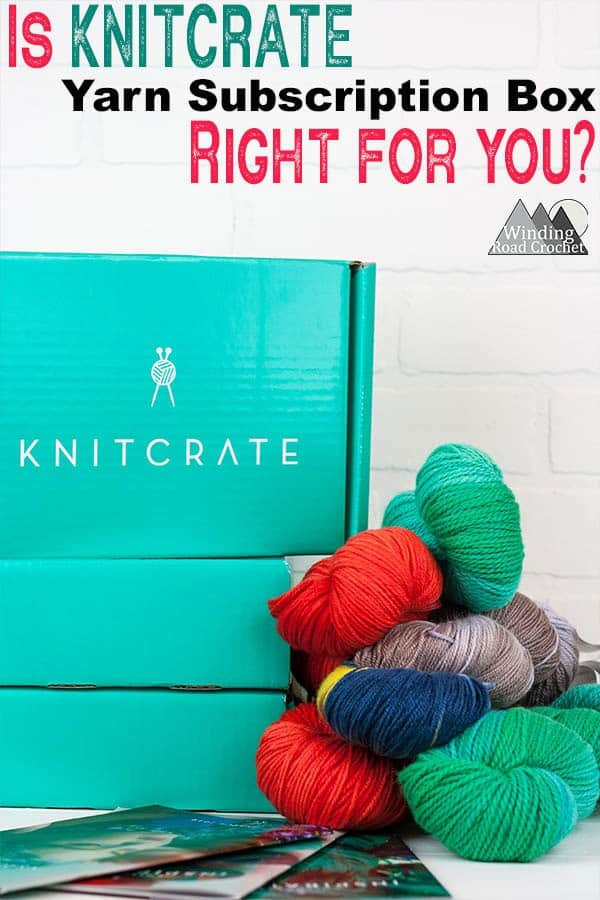 Is the Knitcrate yarn subscription box right for you? Read this in depth review for the Knitcrate subscription box and see if it is the right yarn subscription box for you. #subscriptionbox #yarnsubscription #yarnkit
