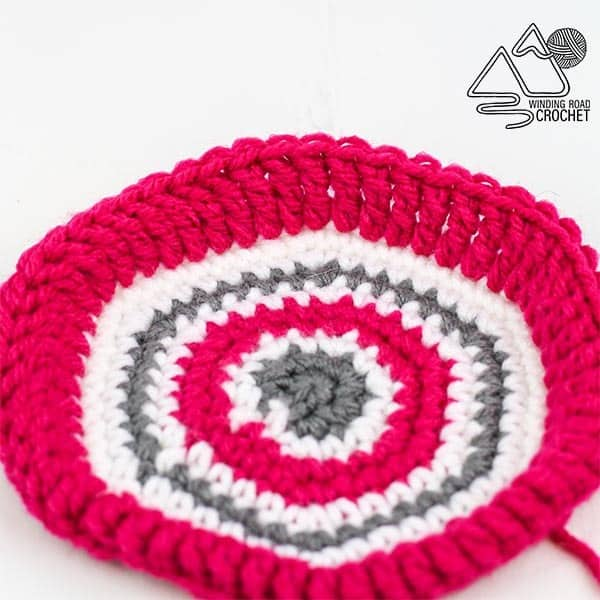 crochet folded stitches