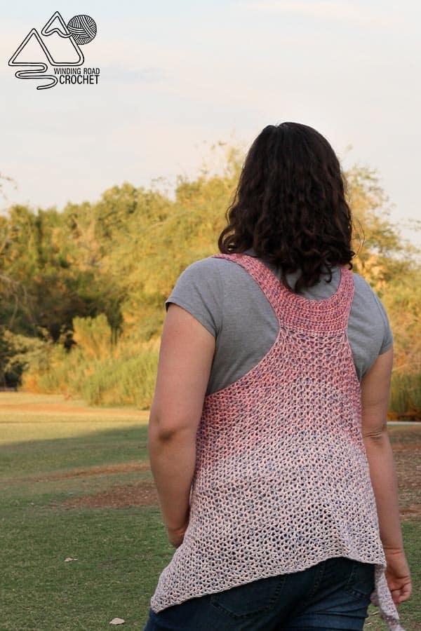 d9309d93b5613 How to Crochet: Easy Boho Summer Crochet Vest - Winding Road Crochet