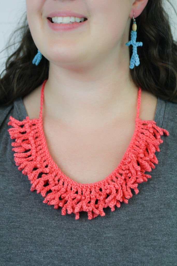 How To Crochet Stunning Coral Crochet Jewelry Patterns