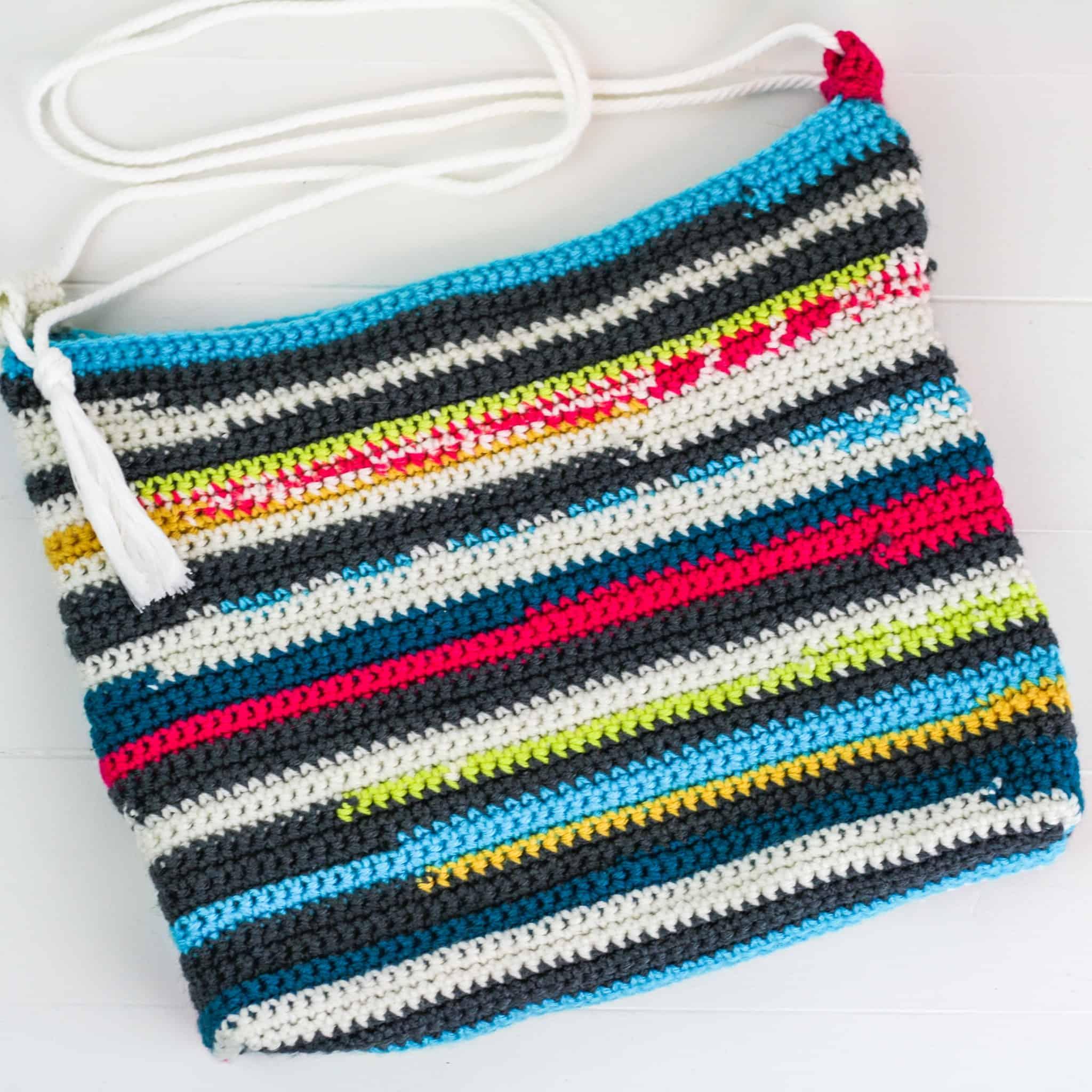 Crochet Scraps Bag
