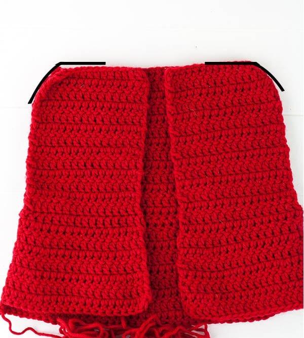 crochet cape sewing instructions