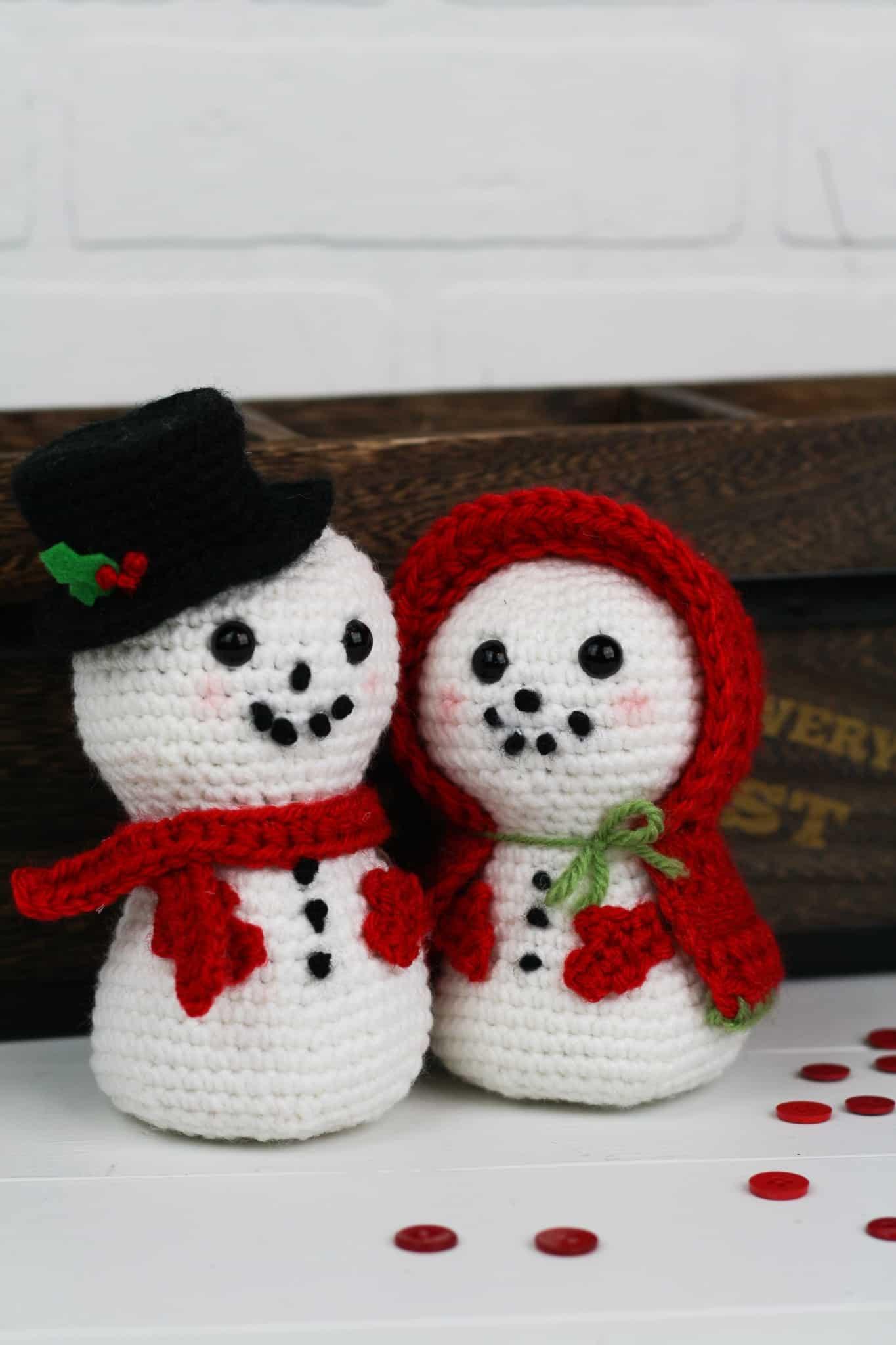 Crochet Snowman - Christmas Snowman - Amigurumi Snowman - Colored ...   2048x1365
