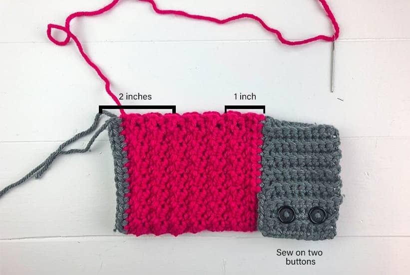 Crochet Fingerless Gloves Free Crochet Pattern by Winding Road Crochet