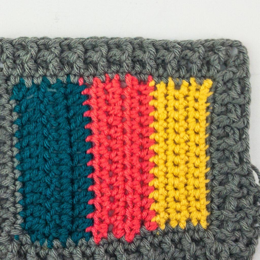 Crochet Blanket Border row 2