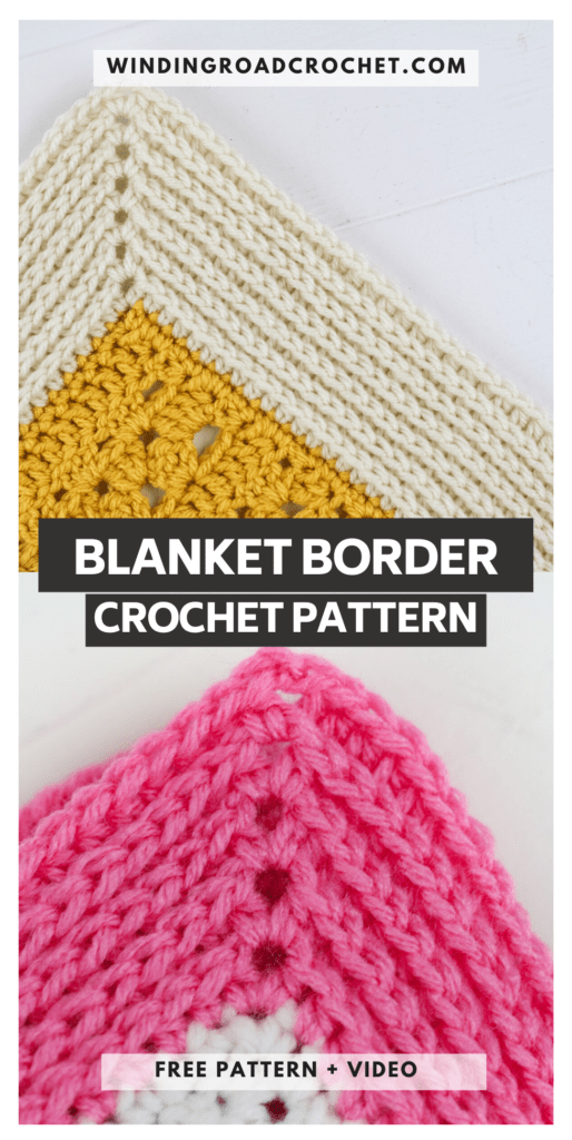 The Camel Stitch blanket border will work for any blanket. Free crochet pattern and video tutorial for the knit like blanket border.