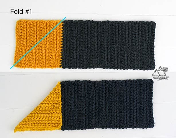 What a beautiful and easy modern crochet bag made from a rectangle. This is a beginner-friendly to easy crochet pattern with helpful video tutorials.
