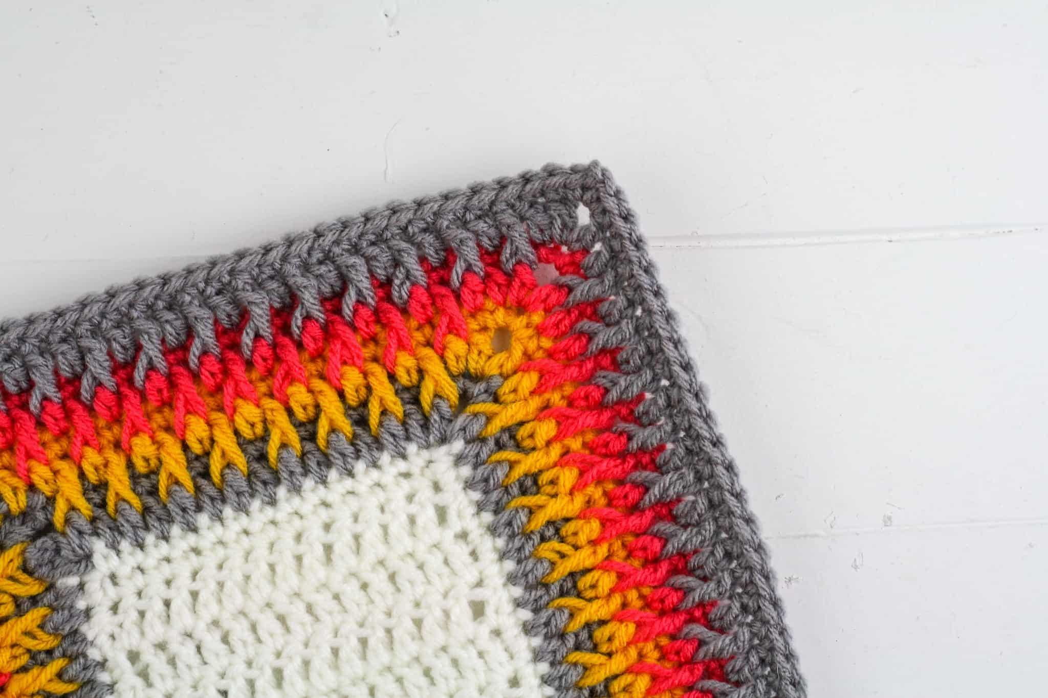 Alpine Stitch Crochet Blanket Border How To Crochet Winding Road Crochet