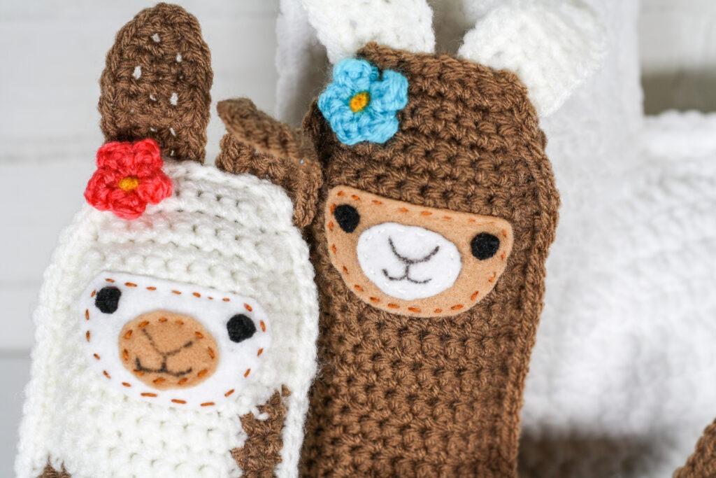 Free Amigurumi Llama Toy Softies Crochet Patterns | 683x1024