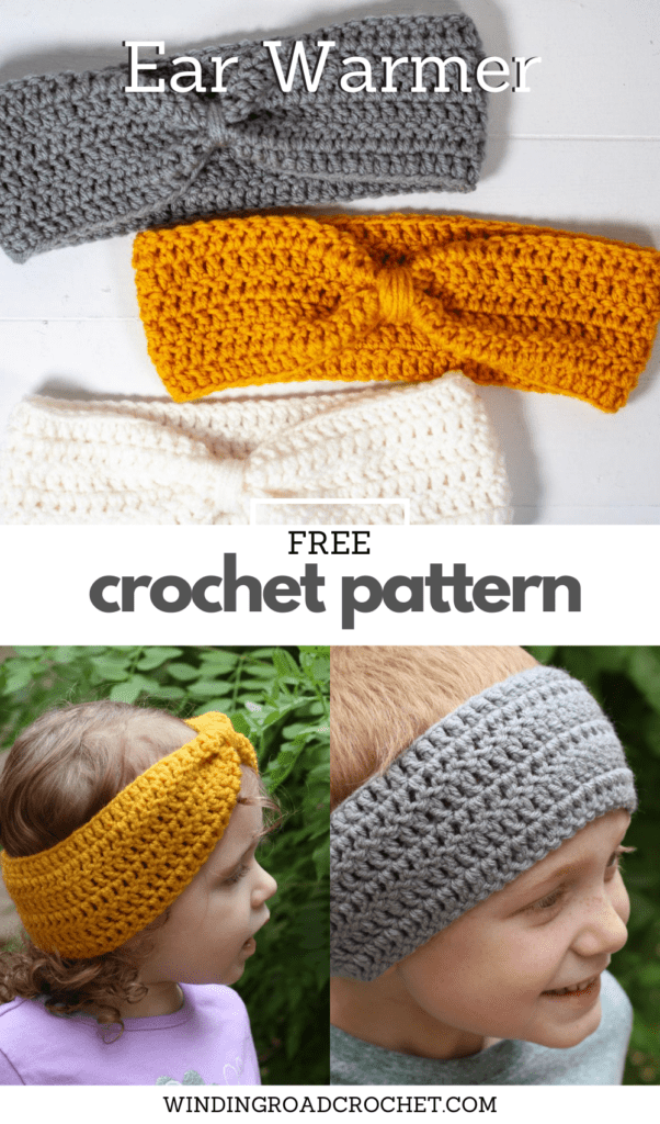This free crochet pattern is perfect for beginners. This crochet ear warmer pattern is easy to follow and makes a perfect quick and easy gift.