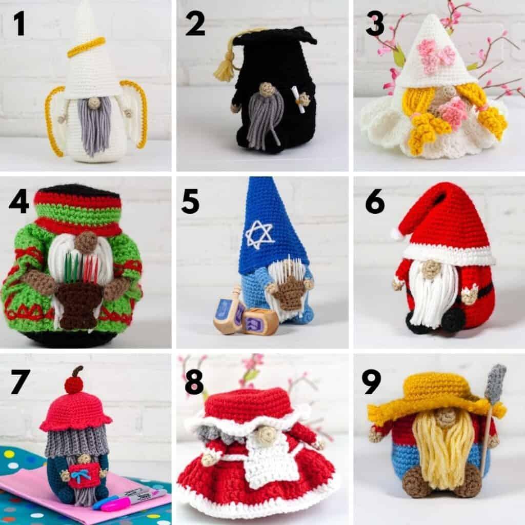 Crochet Gnomes