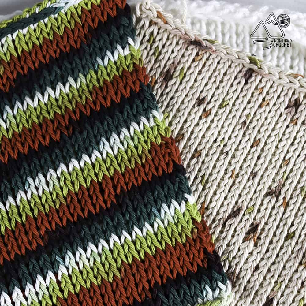 Learn all the basics of Tunisian crochet with this free online course. This course is designed for beginners and has 4 practice patterns.