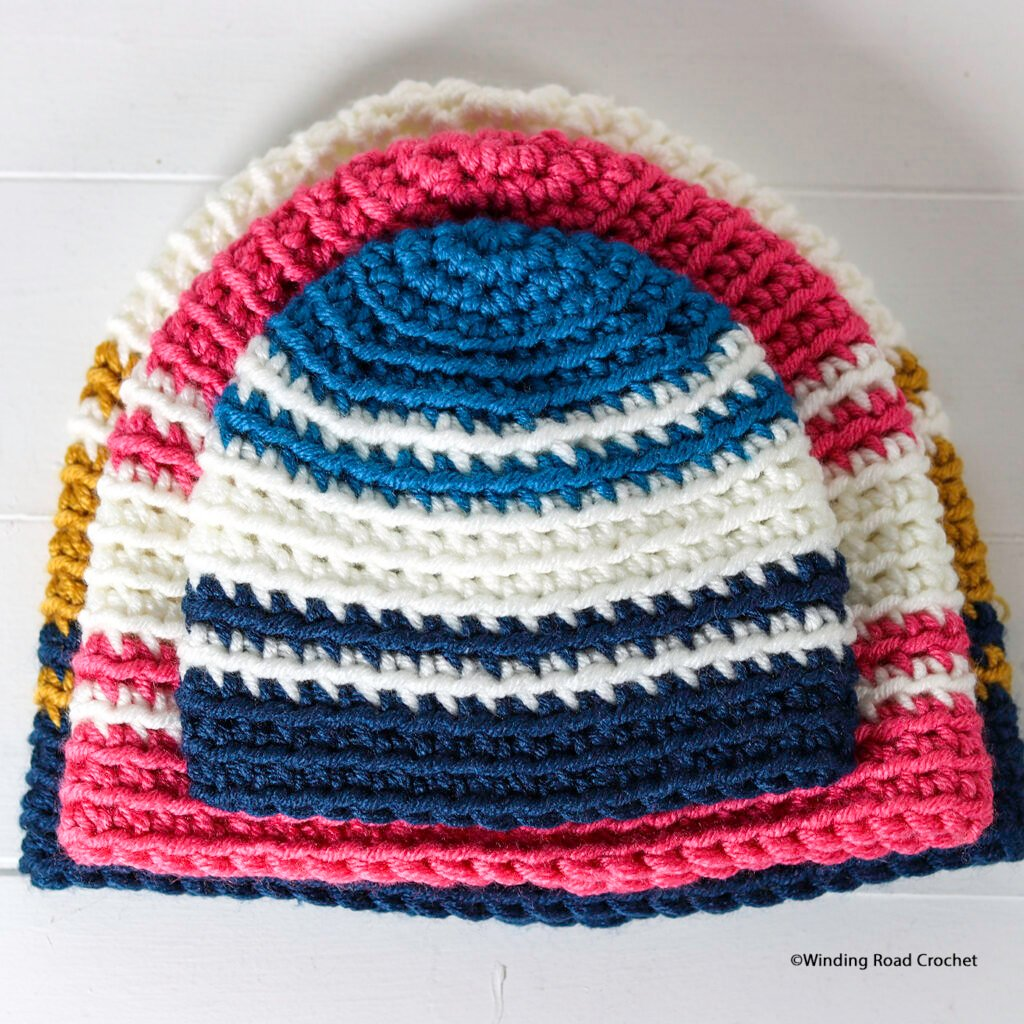 You will love with quick crochet hat. Free crochet pattern with video tutorial and patterns for bulky and super bulky yarn.