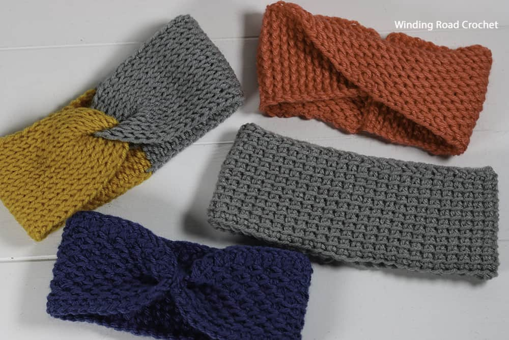 This Any Stitch Tunisian Crochet Ear Warmer is a crochet pattern in the Tunisian Crochet Course. It is an easy pattern, great for beginners.
