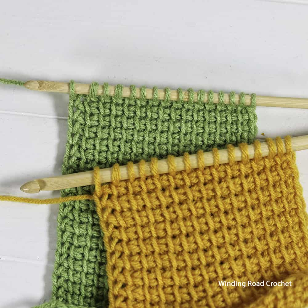 Learn how to prevent or fix common mistakes in Tunisian Crochet during lesson 2 of the free Tunisian crochet course with video tutorials.
