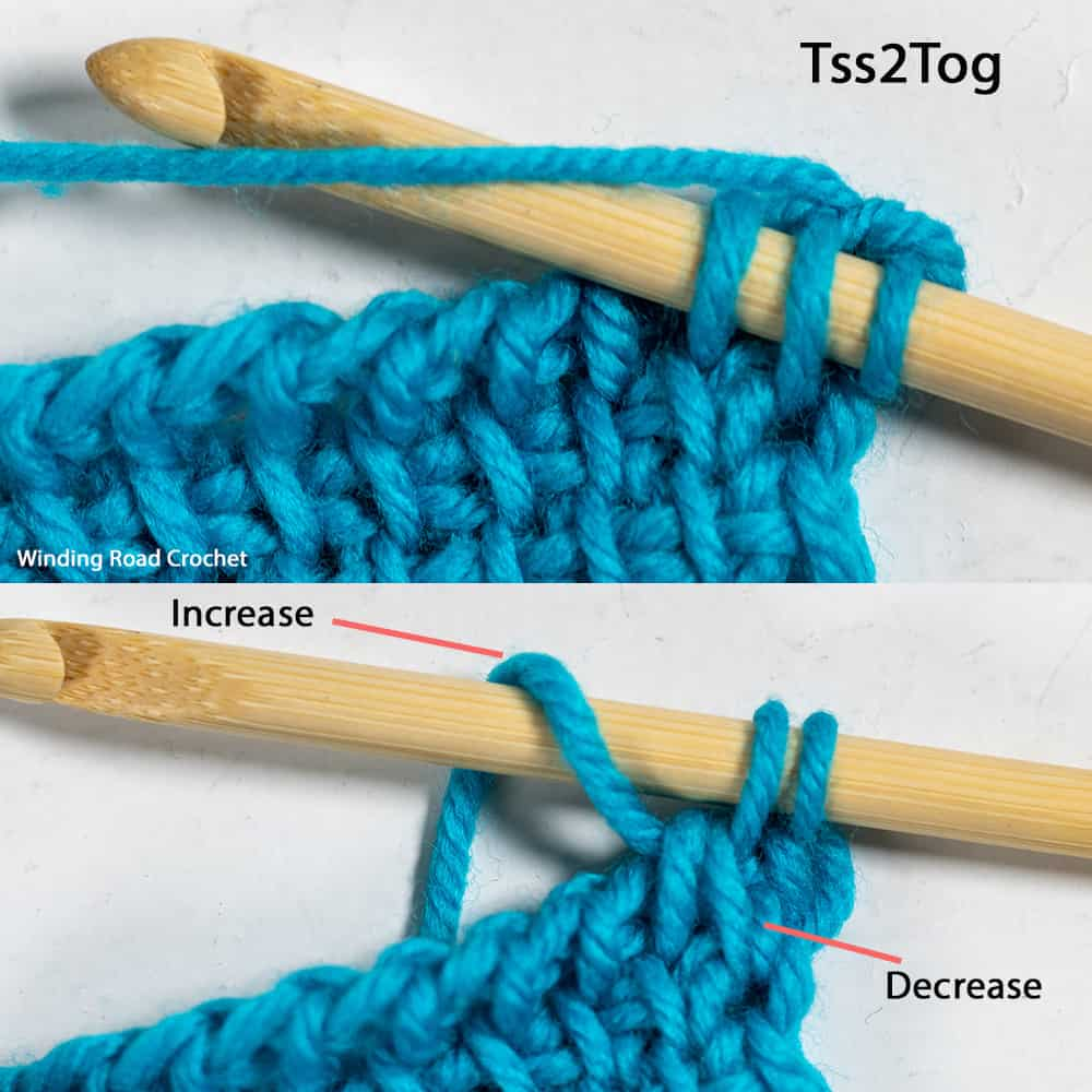 Learn all the basics of Tunisian crochet with this free online course. In lesson 7, we learn the diamond-patterned Tunisian Smock stitch.