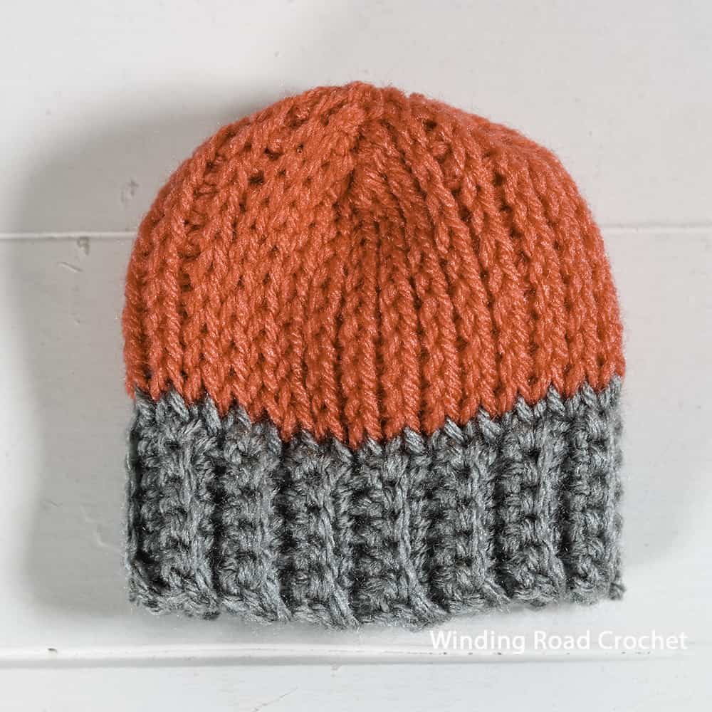 This Simply Simple Tunisian Crochet hat is a crochet pattern in the Tunisian Crochet Course. It is an easy pattern with video pattern guide.