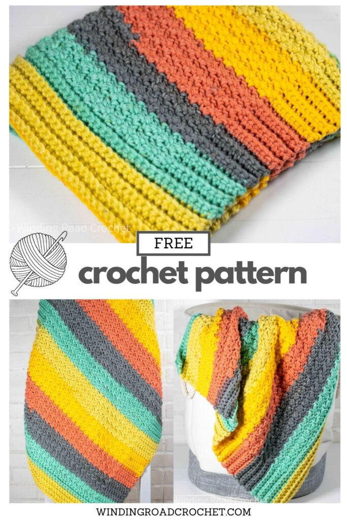 You will love this easy crochet baby blanket pattern. It works up quickly and is beginner friendly. Free crochet pattern with video tutorial. You will love this easy crochet baby blanket pattern. It works up quickly and is beginner friendly. Free crochet pattern with video tutorial.