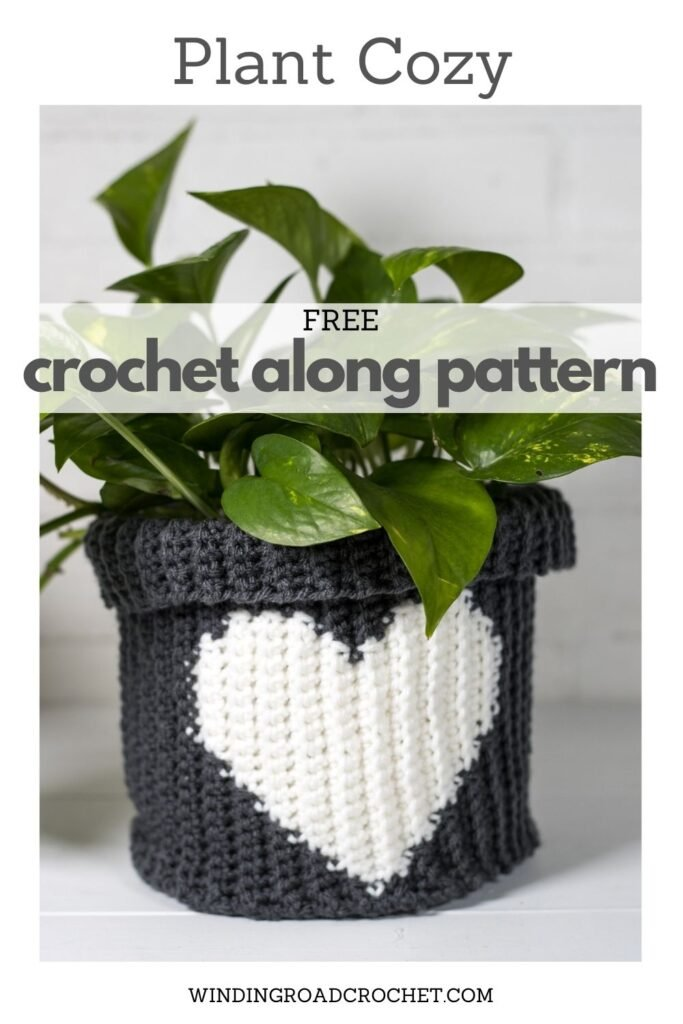 Join the Crochet along and make a crochet basket perfect for keeping you plants cozy. Part 1 of the free crochet pattern available.