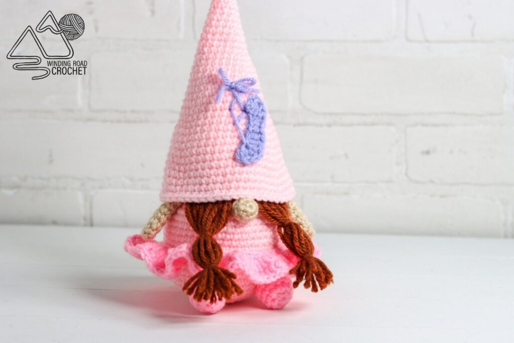 Ballerina Crochet Gnome Cover Photo