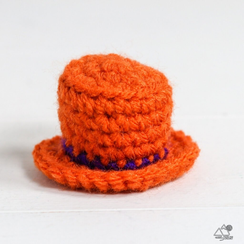 crochet ghost gnome's ghost hat's hat