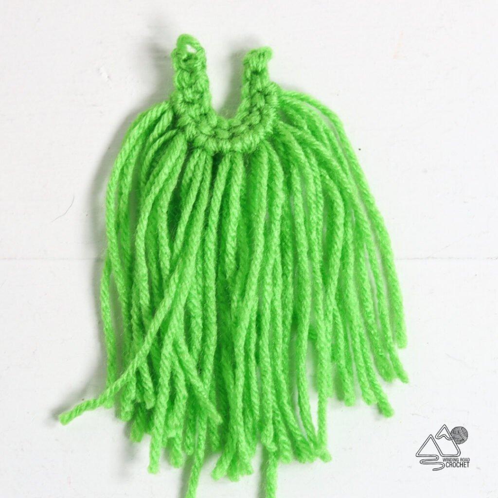 crochet gnome beard